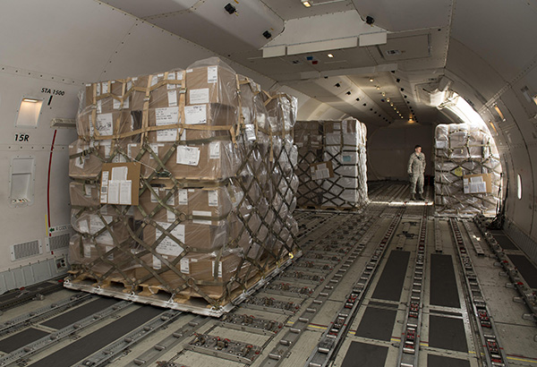 The history of air freight may have been different if the army had not needed to move weapons and suppliers quickly worldwide