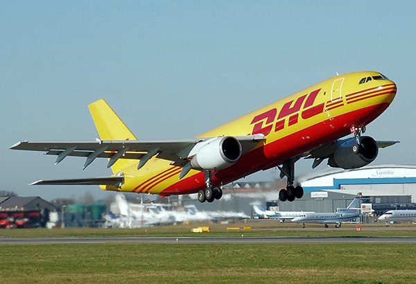 DHL Aviation plane specialising in small parcels.